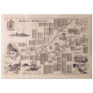 I.O.S Gig Swift Poster Isles of Scilly Gig Design Planaship Maritime Print