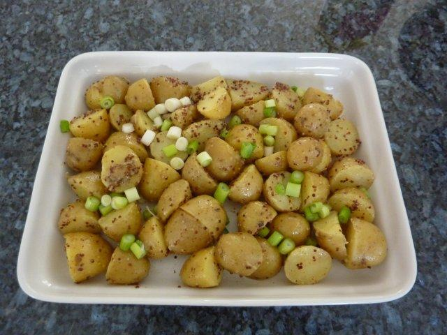 Potato Salad with Mustard